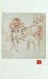 Horses Suite I Collectable Print by  Lebadang