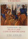 Exposition Chartres Samlertryk af Marcel Gromaire