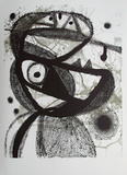 Expo 83 - Galerie Maeght Avl Collectable Print by Joan Mir&#243;