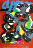 Expo Galerie Ariel 77 Collectable Print by Karel Appel