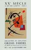 Expo Mus&#233;e De Nantes Collectable Print by Wassily Kandinsky