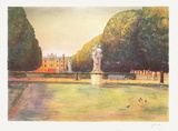 Paris, Jardin de l'Observatoire Collectable Print by Rolf Rafflewski