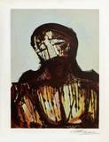 Portrait du Christ Premium Edition av David Alfaro Siqueiros