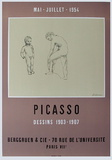 Expo 54 - Galerie Berggruen Collectable Print by Pablo Picasso