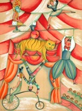 Au Cirque - Le Grand ÉquiIIbre Collectable Print by Françoise Deberdt