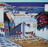 Mykonos : linge au soleil Limited Edition by Jean Claude Quilici