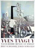 Exposition Galerie Renou et Poyet Collectable Print by Yves Tanguy