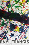 Expo M&#233;taphysique Du Vide II Collectable Print by Sam Francis