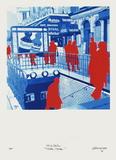 Boulevard Des ItaIIens : Tirez, Tirez... Limited edition van Gérard Fromanger