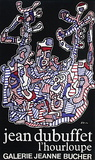 Expo Galerie Jeanne Bucher Collectable Print by Jean Dubuffet