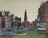 Ámsterdam Lámina coleccionable por Denis-paul Noyer