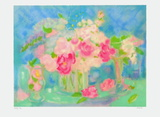 Bouquet De Roses I Limited Edition by Michèle Gour