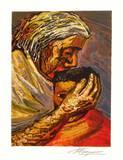 Mère et enfant Premium Edition av David Alfaro Siqueiros