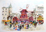 Paris, Le MouIIn Rouge II Limited Edition by Urbain Huchet