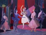 A L&#39;Op&#233;ra Collectable Print by Camille Hilaire