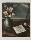 Le Courrier Collectable Print by Maurice De Vlaminck