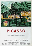 Expo 62 - Galerie Louise Leiris Collectable Print by Pablo Picasso