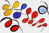 Dlm190 - Composition IV Collectable Print by Alexander Calder