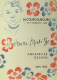 Expo Galerie Jacques Dubourg Collectable Print by Henri Matisse