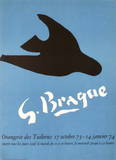 Expo Orangerie Des Tuileries Collectable Print by Georges Braque