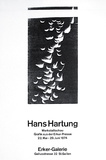 Expo Ecker Galerie Collectable Print by Hans Hartung