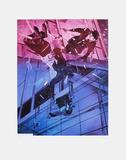 Catastrophe IV Begränsad utgåva av Jacques Monory
