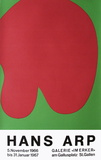 Expo Galerie Im Erker II Collectable Print by Jean Arp