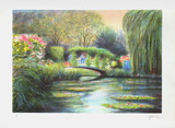 Giverny, le pont aux nymphéas Limited Edition by Rolf Rafflewski