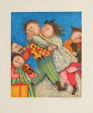 Les danseurs Collectable Print by Graciela Rodo Boulanger