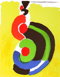 Composition Pour Xx&#232;me Si&#232;cle Collectable Print by Sonia Delaunay-Terk