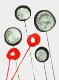 Dlm156 - Ballons Collectable Print by Alexander Calder