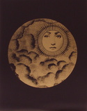 Sole V Serigraph by Piero Fornasetti