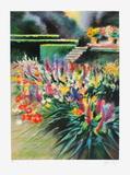 Giverny, parterre de fleurs Limited Edition by Rolf Rafflewski