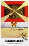 Affiches Sncf : Roussillon Collectable Print by Salvador Dalí