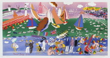 Baie De Sainte-Adresse Collectable Print by Raoul Dufy