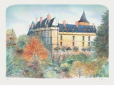 Le château de Chateaudun Collectable Print by Rolf Rafflewski