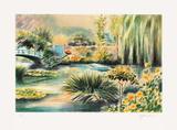 Giverny, une barque sur l'eau II Limited Edition by Rolf Rafflewski