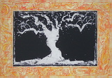 L&#39;Arbre Serigraph by Pierre Alechinsky