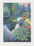 Giverny, les nymphéas sur la rivière Limited Edition by Rolf Rafflewski