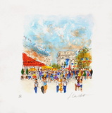 Paris, Le Fouquet'S Collectable Print by Urbain Huchet