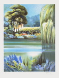 Giverny, le grand saule pleureur Limited Edition by Rolf Rafflewski