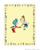 The Cat in the Hat: Thing One (on yellow) Posters by Theodor (Dr. Seuss) Geisel