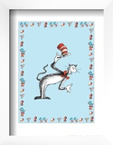 The Cat in the Hat: The Cat (on blue) Art by Theodor (Dr. Seuss) Geisel