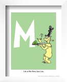 M - I Do So Like Them, Sam I Am. (on green) Posters by Theodor (Dr. Seuss) Geisel