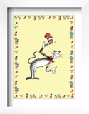 The Cat in the Hat: The Cat (on yellow) Poster by Theodor (Dr. Seuss) Geisel