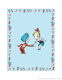 The Cat in the Hat: Thing One (on blue) Prints by Theodor (Dr. Seuss) Geisel