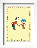 The Cat in the Hat: Thing Two (on yellow) Prints by Theodor (Dr. Seuss) Geisel