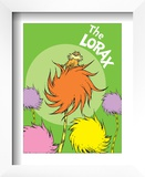 The Lorax (on green) Posters by Theodor (Dr. Seuss) Geisel