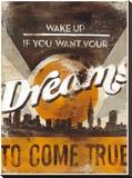 Rodney White - Dreams Come True Reprodukce na plátně