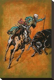El Picador Stretched Canvas Print by David Lozeau